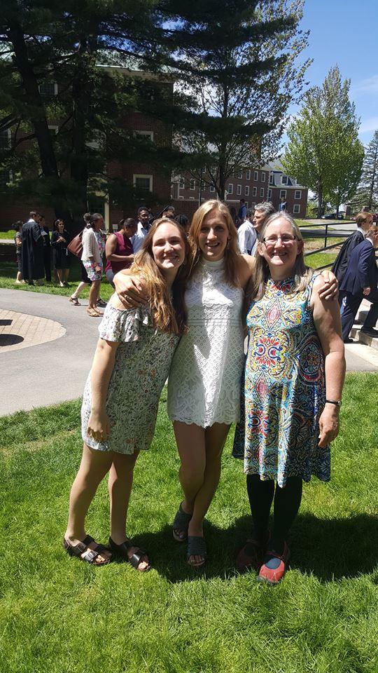 Lydia Larson Colby Grad 2017