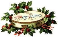 christmas tambourine