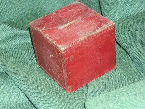 Collection Box found in Vestry Wall