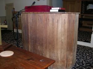 1770 Meetinghouse Pulpit?